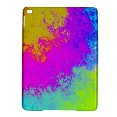 Grunge Radial Gradients Red Yellow Pink Cyan Green Ipad Air 2 Hardshell Cases