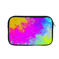 Grunge Radial Gradients Red Yellow Pink Cyan Green Apple Macbook Pro 13  Zipper Case
