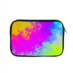 Grunge Radial Gradients Red Yellow Pink Cyan Green Apple Macbook Pro 15  Zipper Case