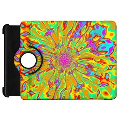 Magic Ripples Flower Power Mandala Neon Colored Kindle Fire Hd 7