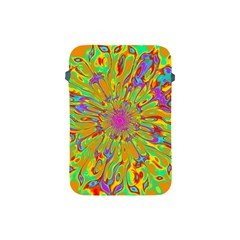 Magic Ripples Flower Power Mandala Neon Colored Apple Ipad Mini Protective Soft Cases