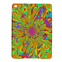 Magic Ripples Flower Power Mandala Neon Colored Ipad Air 2 Hardshell Cases