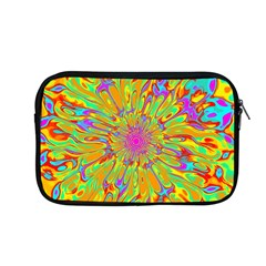 Magic Ripples Flower Power Mandala Neon Colored Apple Macbook Pro 13  Zipper Case