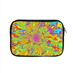 Magic Ripples Flower Power Mandala Neon Colored Apple Macbook Pro 15  Zipper Case