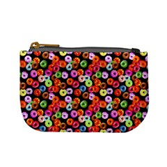 Colorful Yummy Donuts Pattern Mini Coin Purses