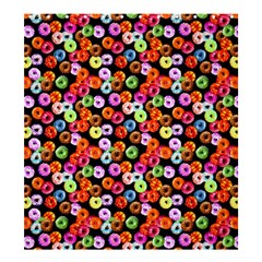Colorful Yummy Donuts Pattern Shower Curtain 66  X 72  (large)