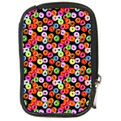 Colorful Yummy Donuts Pattern Compact Camera Cases