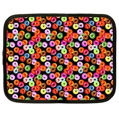 Colorful Yummy Donuts Pattern Netbook Case (xl)
