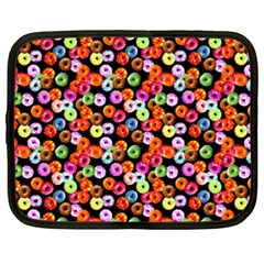 Colorful Yummy Donuts Pattern Netbook Case (xxl)