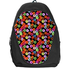 Colorful Yummy Donuts Pattern Backpack Bag