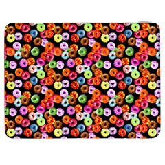 Colorful Yummy Donuts Pattern Samsung Galaxy Tab 7  P1000 Flip Case