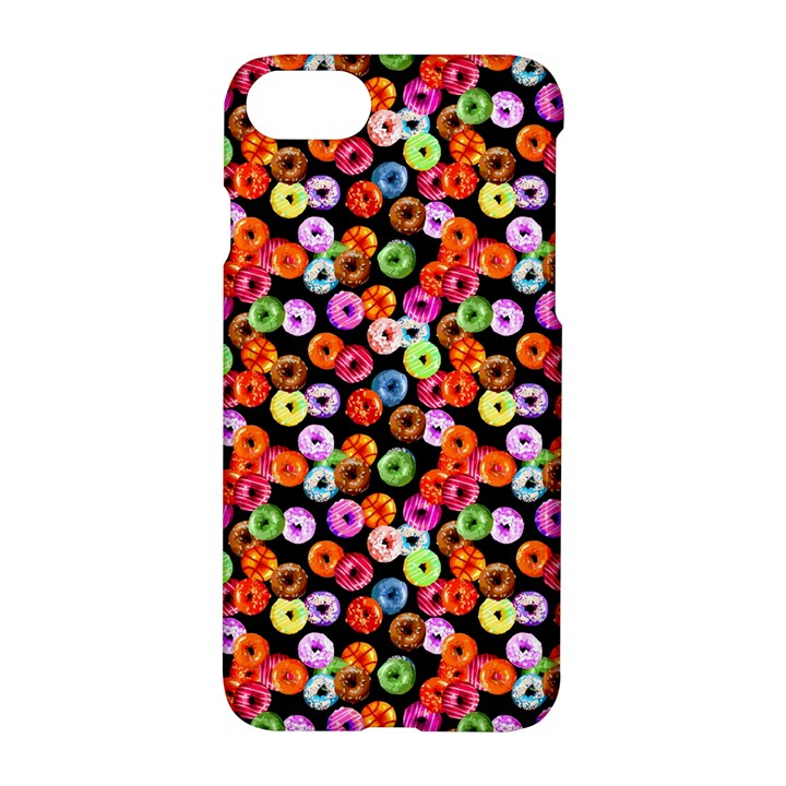 Colorful Yummy Donuts Pattern Apple iPhone 7 Hardshell Case