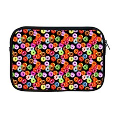 Colorful Yummy Donuts Pattern Apple Macbook Pro 17  Zipper Case