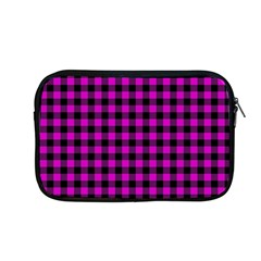 Lumberjack Fabric Pattern Pink Black Apple Macbook Pro 13  Zipper Case
