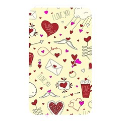 Valentinstag Love Hearts Pattern Red Yellow Memory Card Reader