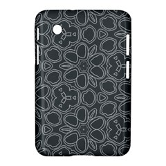 Floral pattern Samsung Galaxy Tab 2 (7 ) P3100 Hardshell Case