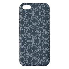 Floral pattern iPhone 5S/ SE Premium Hardshell Case