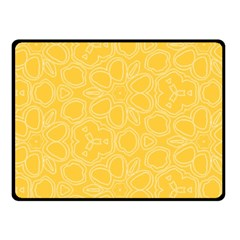 Floral pattern Fleece Blanket (Small)