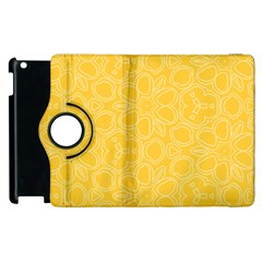 Floral pattern Apple iPad 3/4 Flip 360 Case