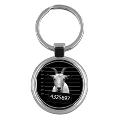 Criminal goat  Key Chains (Round)