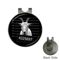 Criminal goat  Hat Clips with Golf Markers