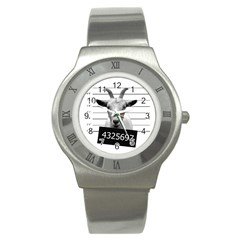 Criminal goat  Stainless Steel Watch