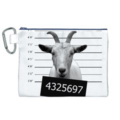 Criminal goat  Canvas Cosmetic Bag (XL)