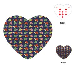 Turtle pattern Playing Cards (Heart)