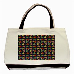 Turtle pattern Basic Tote Bag