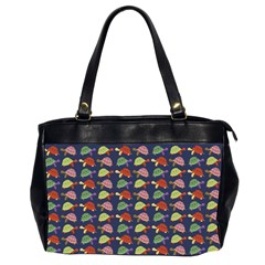 Turtle pattern Office Handbags (2 Sides)