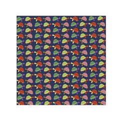 Turtle pattern Small Satin Scarf (Square)
