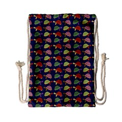 Turtle Pattern Drawstring Bag (small)