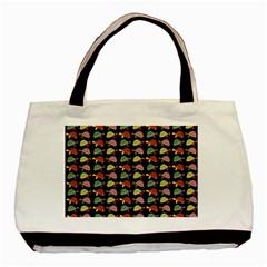 Turtle pattern Basic Tote Bag