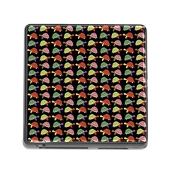 Turtle pattern Memory Card Reader (Square)