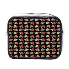 Turtle pattern Mini Toiletries Bags