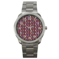 Turtle pattern Sport Metal Watch