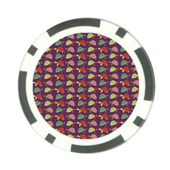 Turtle Pattern Poker Chip Card Guard