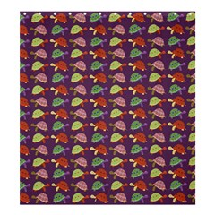 Turtle pattern Shower Curtain 66  x 72  (Large)