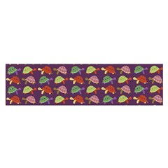 Turtle pattern Satin Scarf (Oblong)