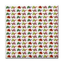Turtle pattern Tile Coasters