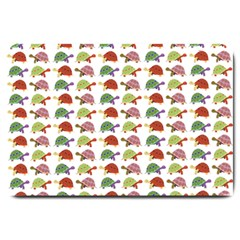 Turtle pattern Large Doormat