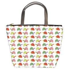 Turtle pattern Bucket Bags