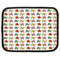 Turtle pattern Netbook Case (XL)