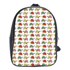 Turtle pattern School Bags(Large)