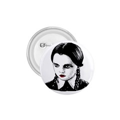 Wednesday Addams 1.75  Buttons