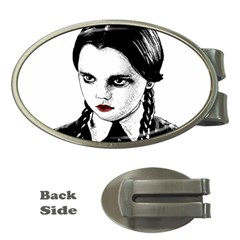 Wednesday Addams Money Clips (Oval)
