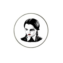 Wednesday Addams Hat Clip Ball Marker (10 pack)
