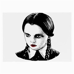 Wednesday Addams Large Glasses Cloth (2-Side)