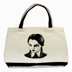 Wednesday Addams Basic Tote Bag (Two Sides)