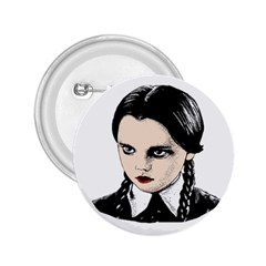 Wednesday Addams 2.25  Buttons